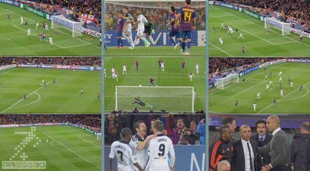 دانلود خلاصه بازی به همراه گلهای بازی بارسلونا در مقابل چلسی