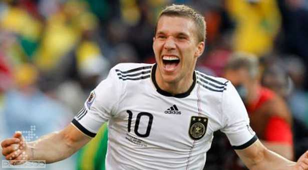 Lukas Podolski in Arsenal