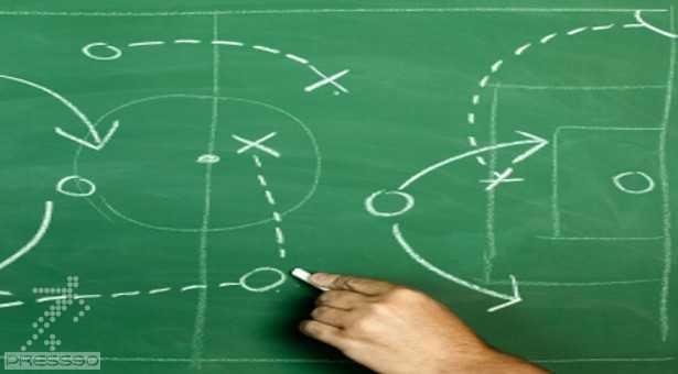 آموزش نمادهای فوتبال برای طراحی سازمان تمرینی