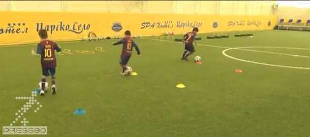 دانلود تمرينات كودكان در آكادمي فوتبال بارسلونا - لاماسيا