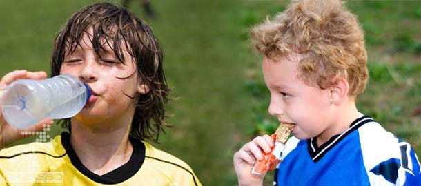 تغذیه در مسابقات فوتبال