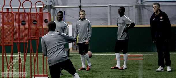ویدئو تمرینات حرفه ای چلسی ، آرسنال ، بارسلونا و میلان