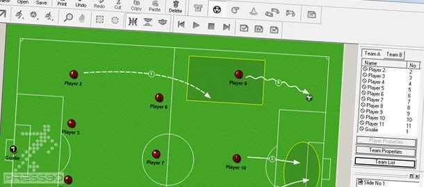 DataCoach Manager 1.25 دانلود نرم افزار طراحي تمرينات و سيستمهاي فوتبال
