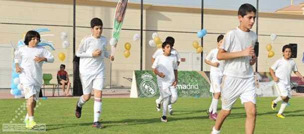 تمرينات چهار در مقابل چهار آكادمي رئال مادريد
