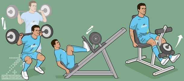 سه تمرین بدنسازی برای افزایش قدرت شوت و جهش