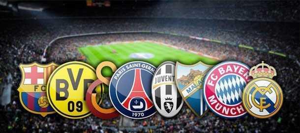 قرعه کشی مرحله یک چهارم نهایی لیگ قهرمانان اروپا