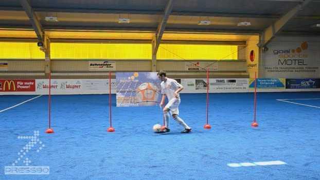 Forms to improve dribbling skills دانلود ويدئو فرمهاي پايه دريبلينگ براي بهبود مهارت كار با توپ
