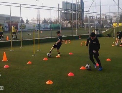 دانلود فیلم تمرین هماهنگی با توپ برای رده سنی زیر ۱۴ سال