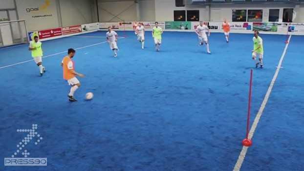 دانلود تمرین توسعه بازی حفظ توپ از لاماسیا بارسلونا