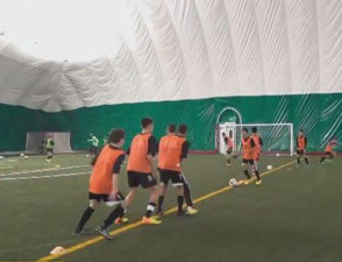 تمرین عکس العمل در فوتبال با بازی اعداد – با هدف توسعه سرعت و واکنش