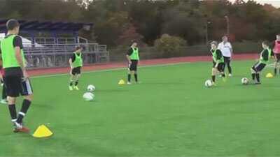 تمرین تایمینگ در فوتبال