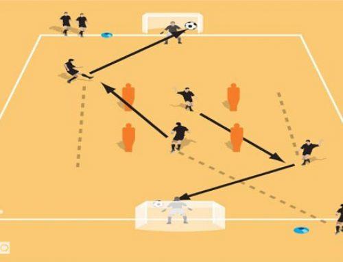 سازماندهی تهاجمی و بازی ترکیبی در تمرین گل و پاس گل