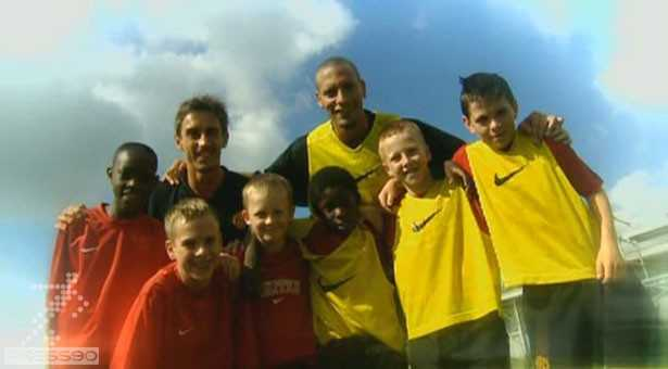 دانلود فیلم آموزش فوتبال در آکادمی منچستر یونایتد