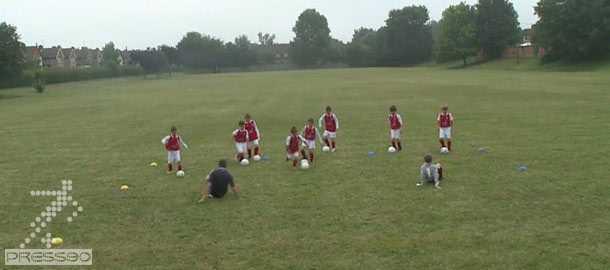 تمرينات شاداب در فوتبال پايه