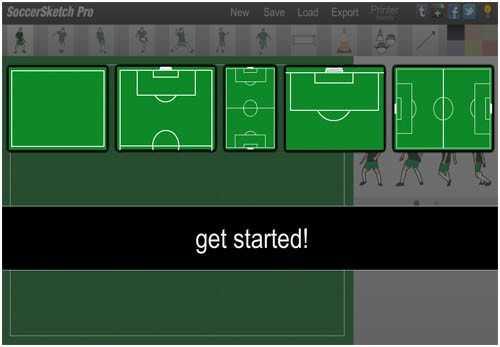 آموزش طراحی تمرین فوتبال