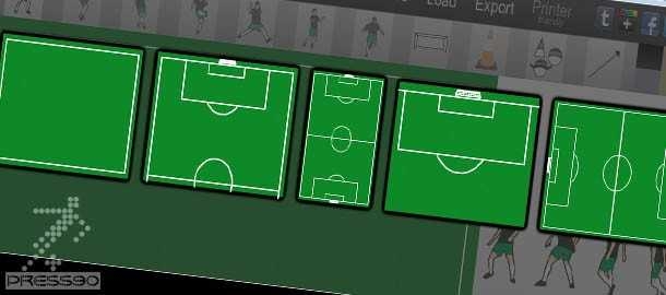 دانلود نرم افزار طراحي تمرين فوتبال SoccerSketch