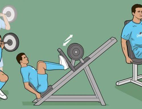 سه تمرین بدنسازی برای تقویت عضلات چهار سر ران