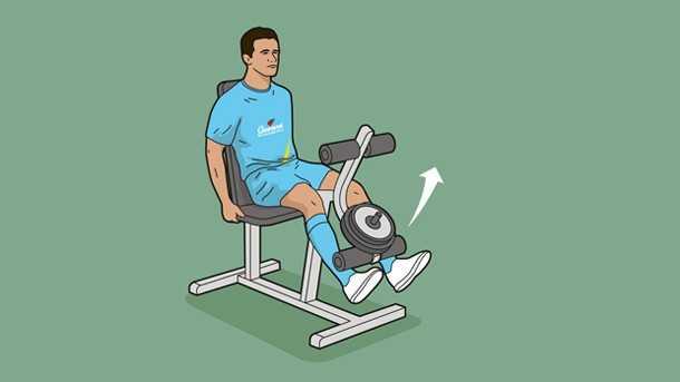 جلو پا ماشین یا LEG EXTENSION