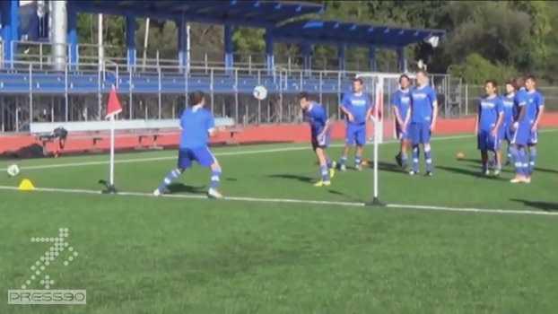 تمرین شاداب فوتبالی