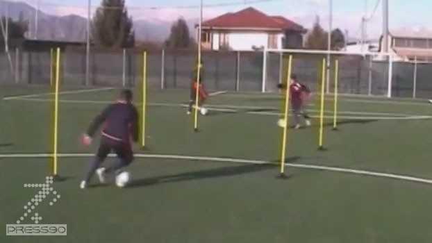 تمرین اختصاصی فوتبال