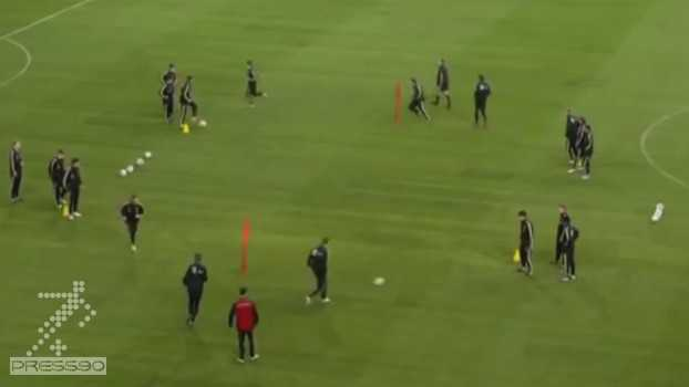 تمرین تیم ملی آلمان