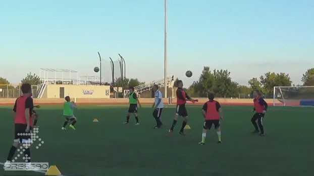 تمرین شاداب فوتبال