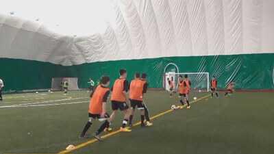 تمرین عکس العمل در فوتبال با بازی اعداد
