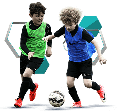 تمرینات مدرسه فوتبال - چهل جلسه تمرینی برای رده سنی 9 تا 12 سال بصورت فیلم