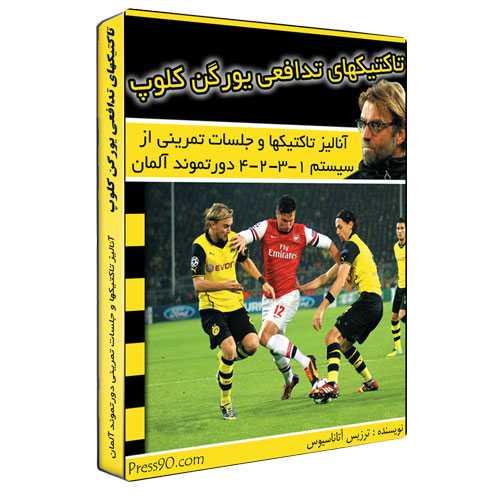 تاکتیکهای دفاعی یورگن کلوپ - بر اساس آنالیز بازیهای 1-3-2-4 در تیم فوتبال دورتموند