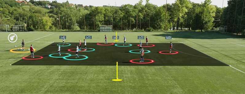 تصاویر سه بعدی تمرینات فوتبال