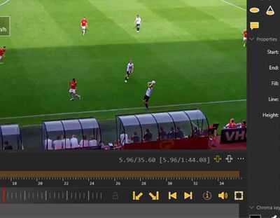 محاسبه سرعت، مسافت، شتاب و نمایش مشخصات بازیکن در نرمافزار آنالیز پرس ۹۰