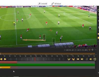 آموزش متوقف کردن فیلم و انتقال بازیکن (شبیه سازی) در نرمافزار آنالیز پرس ۹۰