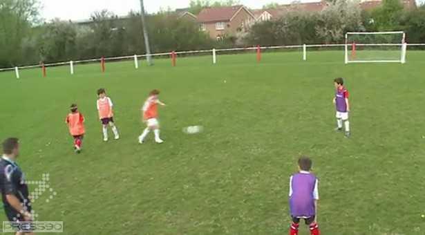 دانلود فیلم آموزش پاس و حرکت در فوتبال برای کودکان